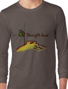 Straight Java Long Sleeve T-Shirt