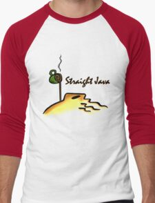 Straight Java Men's Baseball ¾ T-Shirt