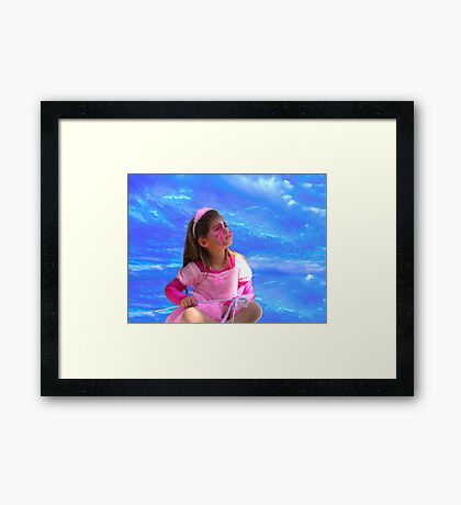 Center of the Universe 1 Framed Print