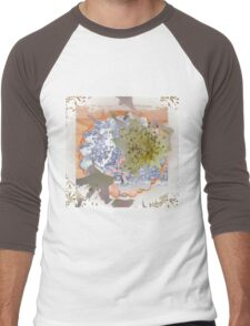 Baby's Breath Men's Baseball ¾ T-Shirt