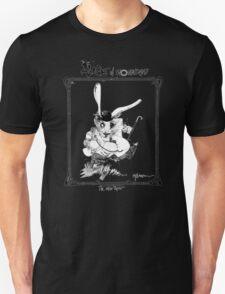 The White Rabbit - ALICE IN WONDERLAND - Ralph Steadman Unisex T-Shirt