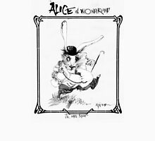 The White Rabbit - ALICE IN WONDERLAND - Ralph Steadman T-Shirt