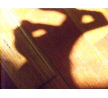 Bunny Shadow Photographic Print