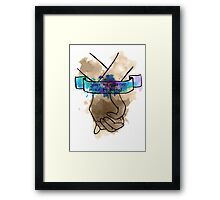 Your Hands Are Mine To Hold Framed Print