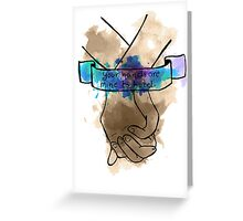 Your Hands Are Mine To Hold Greeting Card