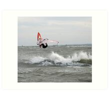 Wave jumper! Art Print