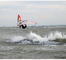 Wave jumper! Photographic Print
