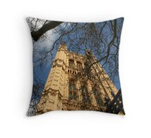 house of parliament - dedicated to cheryl who admires its architecture Throw Pillow