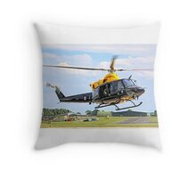 Bell 412EP Griffin HT.1 ZJ235/I G-BXBF Throw Pillow