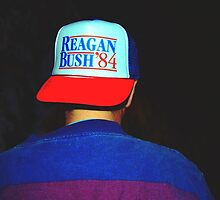 Reagan Bush 1984 by Kanin Klovis