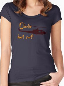 Charlie dont surf Women's Fitted Scoop T-Shirt