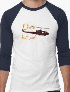 Charlie dont surf Men's Baseball ¾ T-Shirt