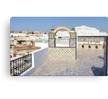Roof Terrace Canvas Print