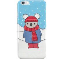 Christmas Koala  iPhone Case/Skin