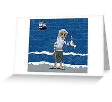 The Ancient Mariner Greeting Card