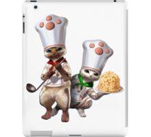 Monster Hunter - Felyne Chefs iPad Case/Skin