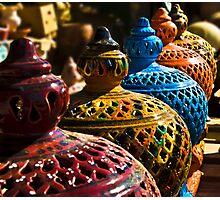 Gharyan Pottery Photographic Print