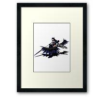 Nargacuga Armour and Bow Framed Print