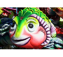 The carnival fish Photographic Print