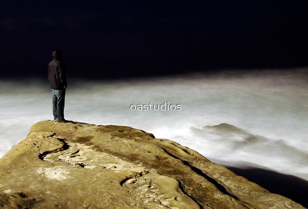 lone figure by oastudios