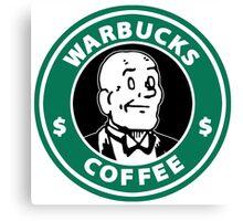 Warbucks Coffee Canvas Print
