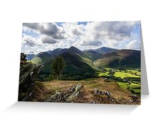 Newlands Valley Greeting Card