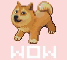 Pixel Doge Wow One Piece - Short Sleeve
