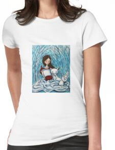 Winterlude Womens Fitted T-Shirt