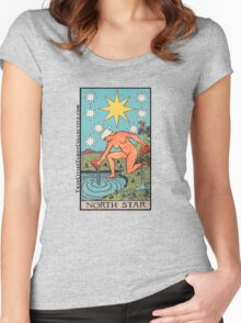 The (North) Star Tarot Card Women's Fitted Scoop T-Shirt