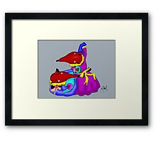 Mice dusters Framed Print