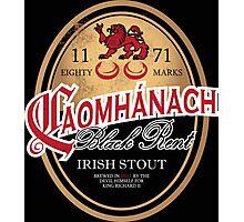 Kavanagh Clan Vintage Irish Stout Photographic Print