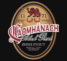 Kavanagh Clan Vintage Irish Stout by celthammerclub