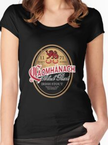 Kavanagh Clan Vintage Irish Stout Women's Fitted Scoop T-Shirt