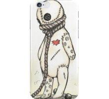Stop Voodoo Dolls' Abuse iPhone Case/Skin