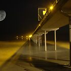 moon over boardwalk by oastudios