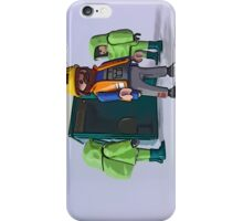 Bob had left a surprise in the Tardis! iPhone Case/Skin