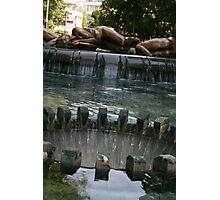 Sculpture Fountain Photographic Print