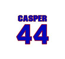 National football player Dave Casper jersey 44 Photographic Print