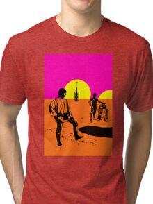 TWIN SUNS Tri-blend T-Shirt