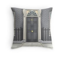 Number 10 Downing Street Throw Pillow