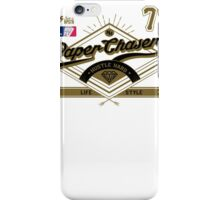 Team Paper Chasers  iPhone Case/Skin