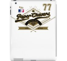 Team Paper Chasers  iPad Case/Skin
