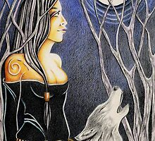 Howling Down The Moon by Deborah Holman