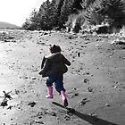 pink boots by travisdeichl