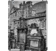 Haunted graveyard  iPad Case/Skin