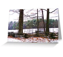 Roadside Beauty Greeting Card