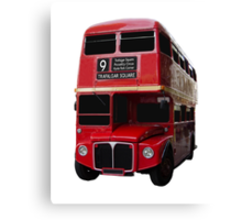 Iconic Red Routemaster Bus Canvas Print