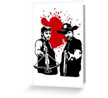 The Dead Saints Greeting Card