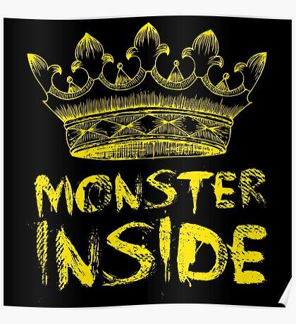 Monster Inside Poster