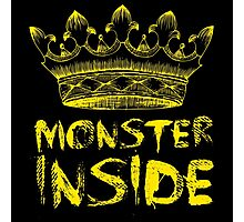 Monster Inside Photographic Print